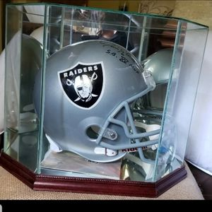 Authentic Oakland Raiders Signed Helmet